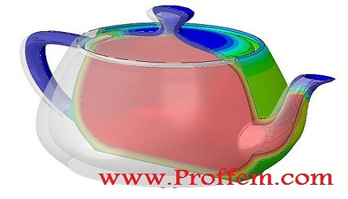 Free Abaqus Tutorial Heat Transfer Analysis Of A Teapot Model Download