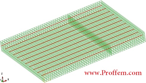 Numerical Simulation Of Prestressed Precast Concrete Bridge Deck